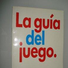 Juguetes antiguos: CATALOGO GENERAL LA GUIA DEL JUEGO DE MB 22 PAGINAS DEL AÑO 1989.. Lote 20085413