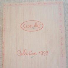 Juguetes antiguos: CATÁLOGO MUÑECAS COROLLE, AÑO 1999. Lote 24757882
