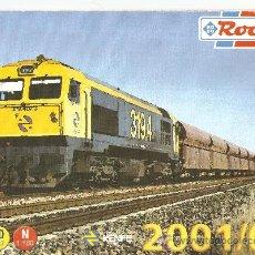 Juguetes antiguos: CATALOGO ROCO 2001-02 HO.RENFE.. Lote 27576844