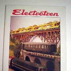 Juguetes antiguos: ELECTROTRÉN CATÁLOGO AÑOS 1995/1996. Lote 28537856