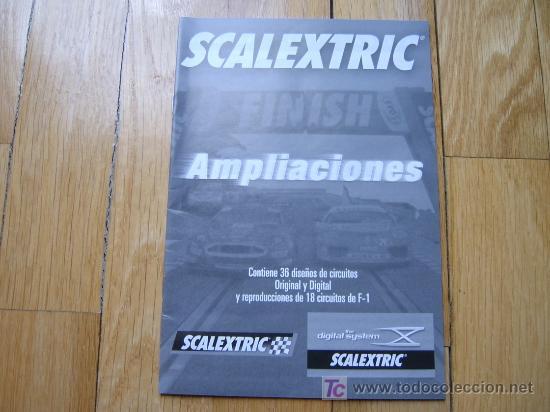 CATÁLOGO AMPLIACIONES SCALEXTRIC - TECNITOYS 2007 (Juguetes - Catálogos y Revistas de Juguetes)