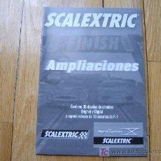 Juguetes antiguos: CATÁLOGO AMPLIACIONES SCALEXTRIC - TECNITOYS 2007. Lote 26697549