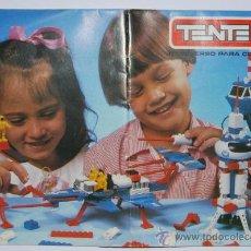 Juguetes antiguos: CATALOGO TENTE EXIN BRASIL. Lote 26281797