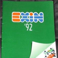 Juguetes antiguos: CATALOGO SCALEXTRIC SCX EXIN AÑO 1992 92. Lote 26465754