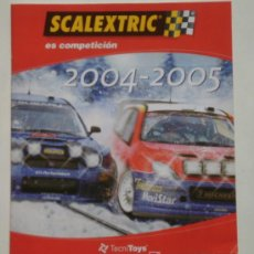 Juguetes antiguos: CATÁLOGO SCALEXTRIC 2004-2005. Lote 26989060