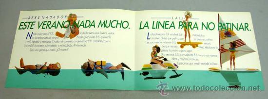 Juguetes antiguos: Catálogo BB Berjusa Bebé nadador y Lali verano 1986 - Foto 2 - 42323356