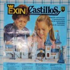 Juguetes antiguos: INSTRUCCIONES EXIN CASTILLOS SERIE GOLDEN NUMERO IV. Lote 109479420
