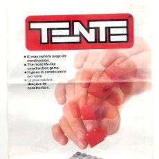 Juguetes antiguos: CATÁLOGO DE TENTE - AÑO 1988.. Lote 19918818