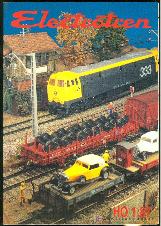 CATALOGO DE TRENES ELECTROTREN. 1992-1994. (Juguetes - Catálogos y Revistas de Juguetes)