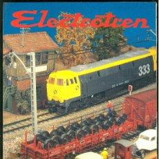 Juguetes antiguos: CATALOGO DE TRENES ELECTROTREN. 1992-1994.. Lote 19921218