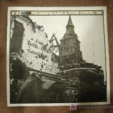 Juguetes antiguos: TAMIYA PHOTOGRAPHIC ALBUM OF BRITISH CHURCHILL TANK.. Lote 23490871