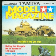 Juguetes antiguos: TAMIYA. MODEL MAGAZINE INTERNATIONAL. 1985.. Lote 23369027