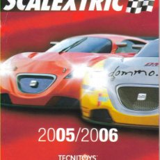 Juguetes antiguos: SCALEXTRIC TECNITOYS CATALOGO 2005-2006. Lote 26183445