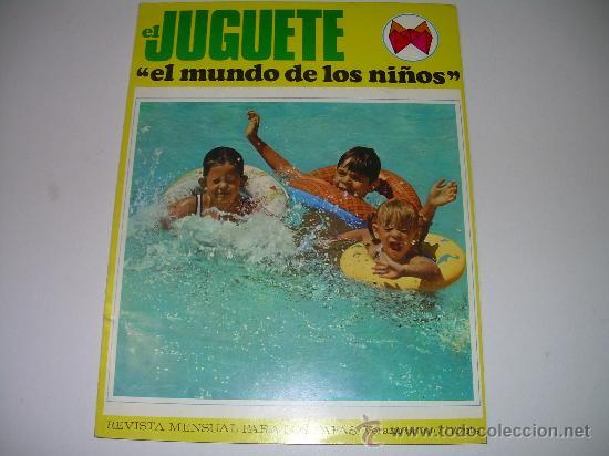 MUY RARA E INTERESANTE REVISTA...EL JUGUETE AÑO 68....1ª EXPOSICION DE JUG.ANTIGUO EN ESPAÑA (Juguetes - Catálogos y Revistas de Juguetes)