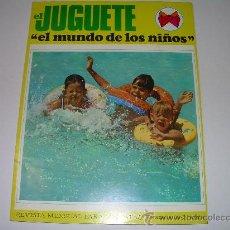 Juguetes antiguos: MUY RARA E INTERESANTE REVISTA...EL JUGUETE AÑO 68....1ª EXPOSICION DE JUG.ANTIGUO EN ESPAÑA. Lote 26976252