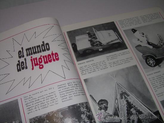 Juguetes antiguos: MUY RARA E INTERESANTE REVISTA...EL JUGUETE AÑO 68....1ª EXPOSICION DE JUG.ANTIGUO EN ESPAÑA - Foto 4 - 26976252