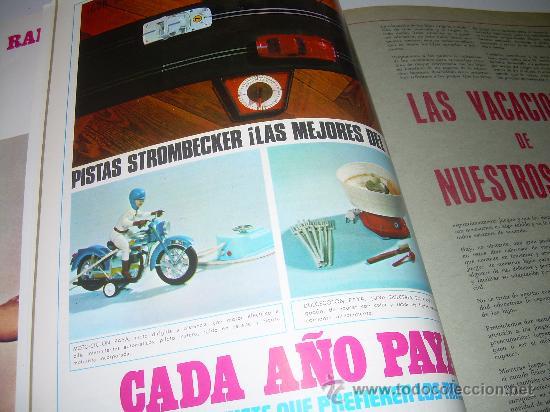 Juguetes antiguos: MUY RARA E INTERESANTE REVISTA...EL JUGUETE AÑO 68....1ª EXPOSICION DE JUG.ANTIGUO EN ESPAÑA - Foto 6 - 26976252