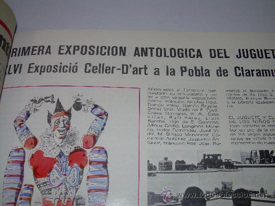 Juguetes antiguos: MUY RARA E INTERESANTE REVISTA...EL JUGUETE AÑO 68....1ª EXPOSICION DE JUG.ANTIGUO EN ESPAÑA - Foto 8 - 26976252