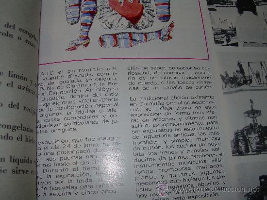 Juguetes antiguos: MUY RARA E INTERESANTE REVISTA...EL JUGUETE AÑO 68....1ª EXPOSICION DE JUG.ANTIGUO EN ESPAÑA - Foto 10 - 26976252