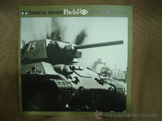 TAMIYA NEWS PACHI. Nº 14. 26 X 26 CM. (Juguetes - Catálogos y Revistas de Juguetes)