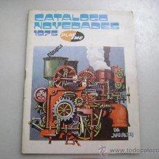 Juguetes antiguos: CATALOGO NOVEDADES 1975 SACAPUNTAS PLAYME. Lote 51520858