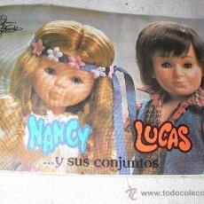 Juguetes antiguos: CATALOGO NANCY Y LUCAS 1 - ENVIO GRATIS A ESPAÑA. Lote 46961064