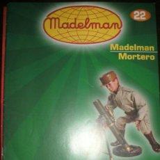 Juguetes antiguos: FASCICULO MADELMAN ALTAYA Nº 22. MADELMAN MORTERO. Lote 27501002