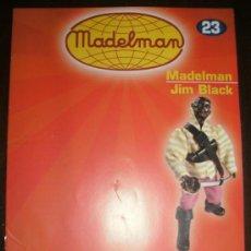 Juguetes antiguos: FASCICULO MADELMAN ALTAYA Nº 23. MADELMAN JIM BLACK. Lote 21904740