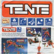 Juguetes antiguos: CATÁLOGO TENTE - EXIN LINES BROS.. Lote 22834716
