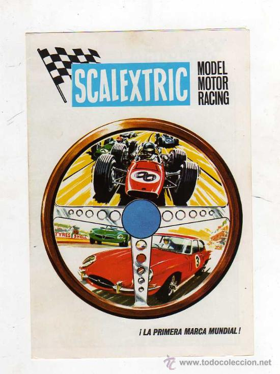 Juguetes antiguos: (M) CATALOGO SCALEXTRIC 1968 - MODEL MOTOR RACING , ILUSTRADO - Foto 1 - 26879640