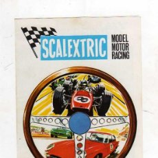 Juguetes antiguos: (M) CATALOGO SCALEXTRIC 1968 - MODEL MOTOR RACING , ILUSTRADO. Lote 26879640