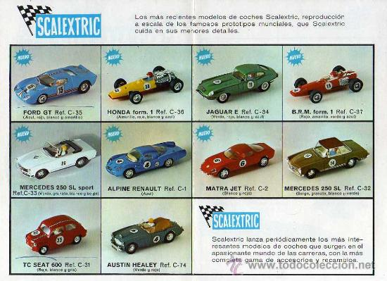Juguetes antiguos: (M) CATALOGO SCALEXTRIC 1968 - MODEL MOTOR RACING , ILUSTRADO - Foto 2 - 26879640