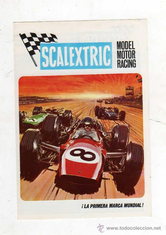 (M) CATALOGO SCALEXTRIC MODEL MOTOR RACING 1969 , ILUSTRADO (Juguetes - Catálogos y Revistas de Juguetes)