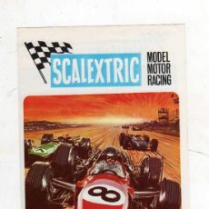 Juguetes antiguos: (M) CATALOGO SCALEXTRIC MODEL MOTOR RACING 1969 , ILUSTRADO. Lote 27280718