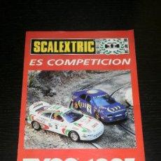 Juguetes antiguos: SCALEXTRIC TYCO - CATALOGO COCHES SLOT - SCX - 1995. Lote 24206280