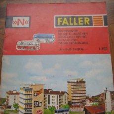 Juguetes antiguos: FALLER. CATÁLOGO 1969-70. 24 PAGINAS.. Lote 23157621
