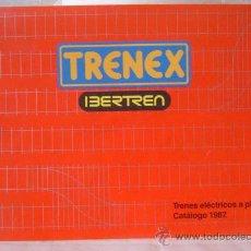 Juguetes antiguos: CATALOGO IBERTREN TRENEX 1987. Lote 23163275