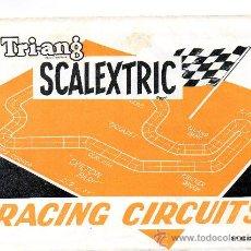 Juguetes antiguos: (M) CATALOGO TRI-ANG SCALEXTRIC - RACING CIRCUITS , AÑOS 70. DESPLEGABLE, . Lote 23721680