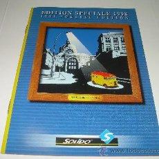 Juguetes antiguos: CATALOGO.....SOLIDO....AÑO...1998.....11 PAGINAS. Lote 26103581