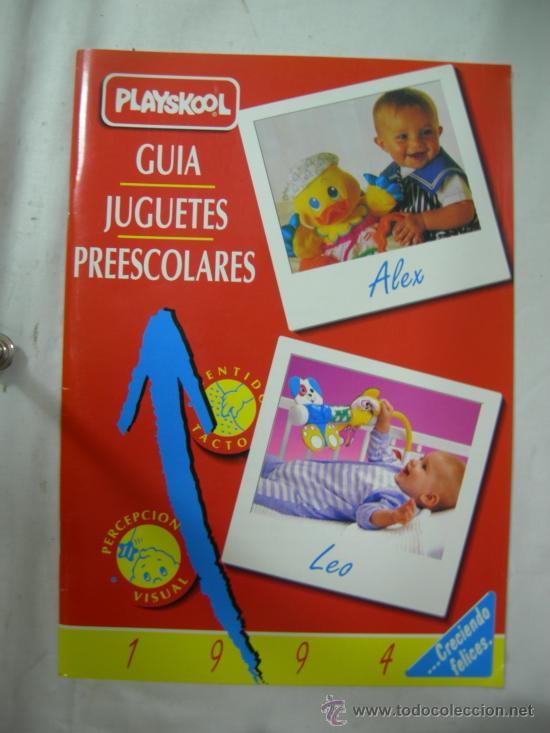 CATALOGO PLAYSKOOL GUIA JUGUETES ESCOLARES 1994 (Juguetes - Catálogos y Revistas de Juguetes)