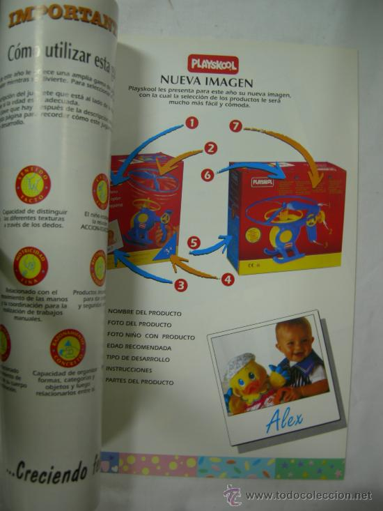Juguetes antiguos: CATALOGO PLAYSKOOL GUIA JUGUETES ESCOLARES 1994 - Foto 3 - 27569607