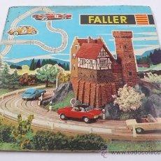 Juguetes antiguos: FALLER,CATÁLOGO 1964-65, 21X21 CM. 56 PAG.. Lote 25261221