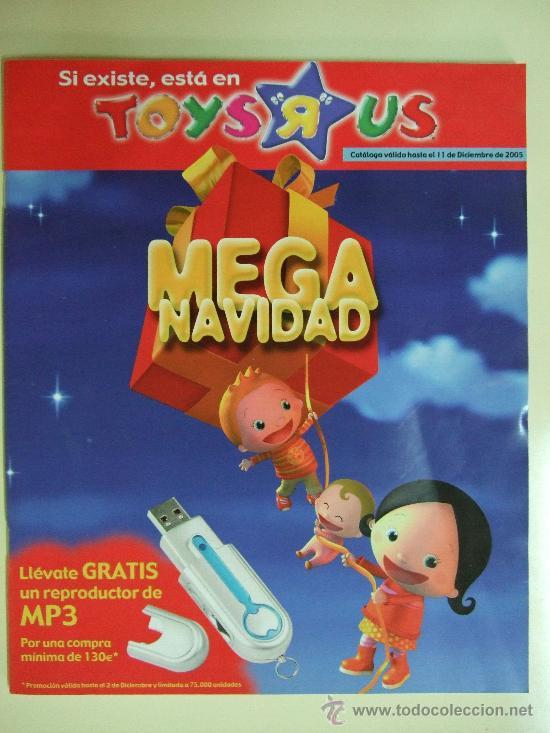 CATALOGO JUGUETES TOYS R US - NAVIDAD AÑO 2005 - ACTION MAN , BATMAN , STAR WARS , LEGO 110 PÁGINAS (Juguetes - Catálogos y Revistas de Juguetes)