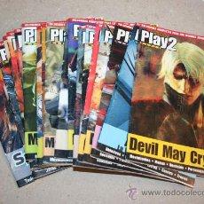 Juguetes antiguos: LOTE REVISTAS PLAY2 MANIA PLAYSTATION 2 TRUCOS PS2. 20 REVISTAS! CIENTOS DE TRUCOS. Lote 27056397