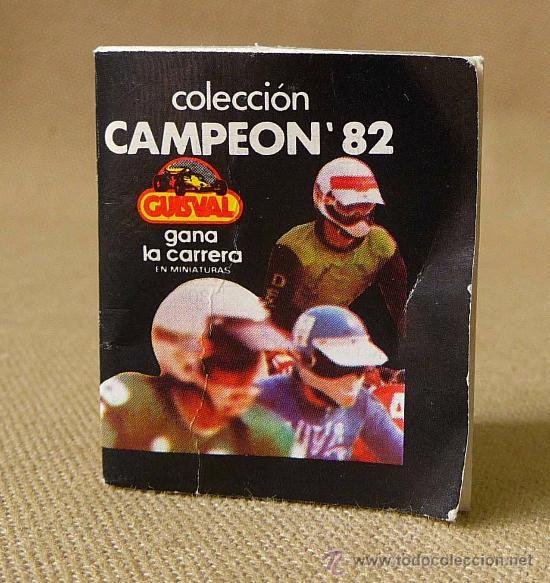 CATALOGO, CATALOGO DE JUGUETES, GUISVAL, COLECCION CAMPEON 82, ALICANTE (Juguetes - Catálogos y Revistas de Juguetes)