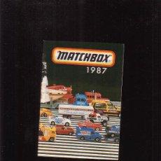 Juguetes antiguos: MATCHBOX AÑO 1987 CATÁLOGO COCHES EN MINIATURA - 48 PAGINAS. Lote 25972982