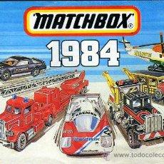 Juguetes antiguos: CATALOGO 1984 MATCHBOX. ORIGINAL. INGLES, ITALIANO Y CASTELLANO.. Lote 26387640