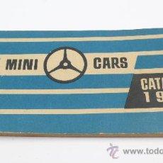 Jouets Anciens: MINI CARS, CATÁLOGO 1960 12X6 CM. 19 PAG.. Lote 26404841