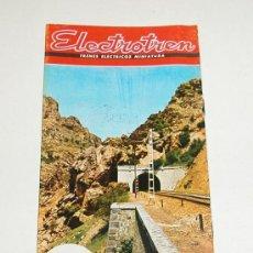 Juguetes antiguos: CATALOGO DE ELECTROTREN. Lote 111635570