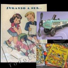 Juguetes antiguos: LIBRO CATÁLOGO JUGANDO A SER COLECCIÓN JUGUETE Y JUEGOS DEL MUSEO ARTE SEVILLA CT JUGUETES JUEGO. Lote 141871848